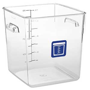 Rubbermaid Color Coded Food Storage System Square