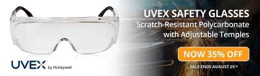 UVEX Safety Glasses Clearance