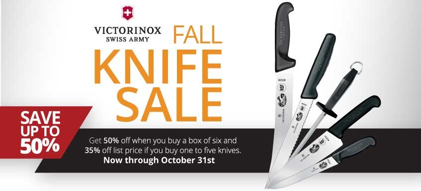 Victorinox 50-Percent Off Knife Sale