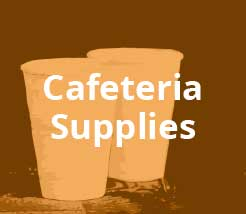 Cafeteria Supplies Overstock Items