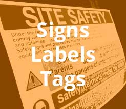Signs Labels and Tags Overstock Items