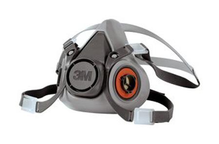 amp; Facepiece Half Facility Medium 6200 3m Safety Maintenance
