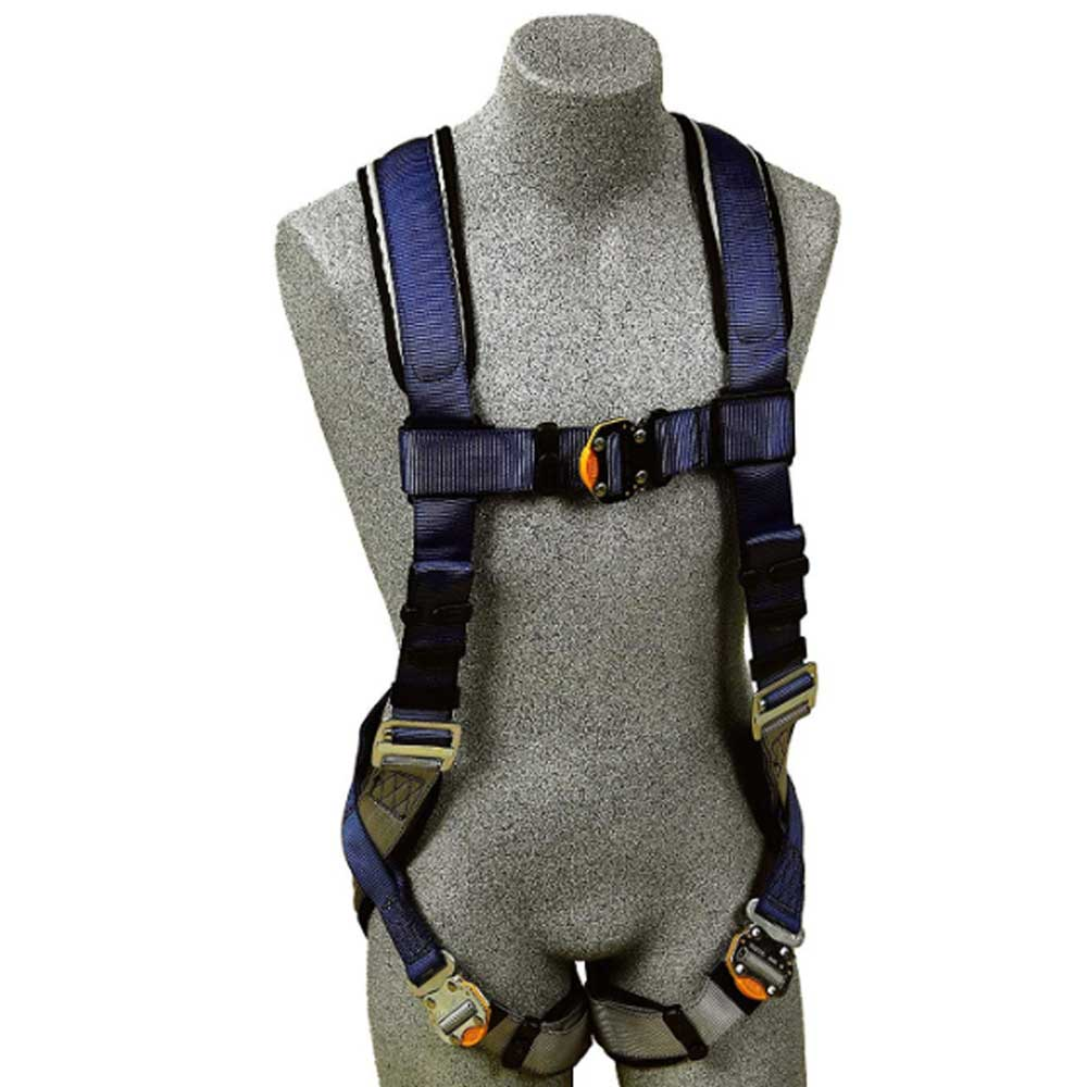 DBI//Sala Exofit XP Med Blue//Gray 1110101 Vest Style Harness Quick-Connect Buckles Loops for Belt Back D-Ring