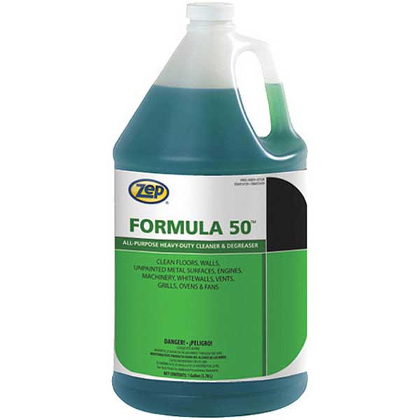 Zep Formula 50 85924 Liquid Cleaner Degreaser 1 Gallon