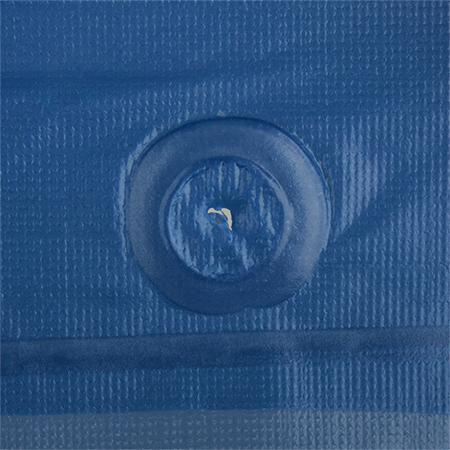 Blue Standard Grade Vinyl Raw Edge 6 Mil Aprons 55 Quot X 35 Quot