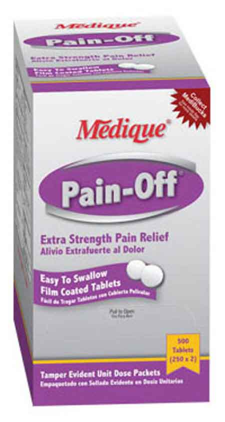 Medique 22813 Pain-Off® Extra Strength Pain Relief Tablets