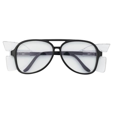 MCR Safety 85110 Prodigy DLX Safety Glasses,Clear Lens