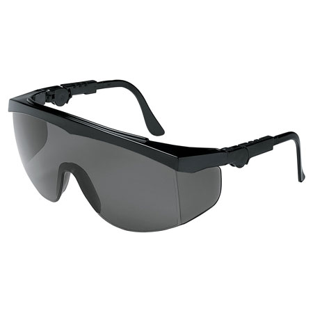 MCR Safety TK112 Tomahawk Safety Glasses, Gray Lens