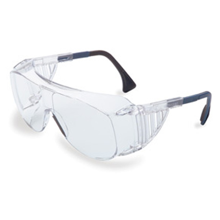 Uvex® S0112 Safety Glasses, Polycarbonate, Clear, Scratch-Resistant, Framed, ClearUvex® S0112 Safety Glasses, Polycarbonate, Clear, Scratch-Resistant, Framed,