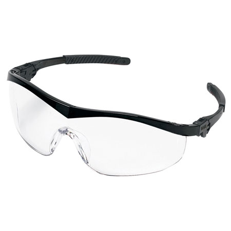 MCR Safety ST110 Storm Safety Glasses, Clear Lens,