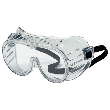 MCR Safety 2220 Standard Goggles, Clear Lens, Perforated