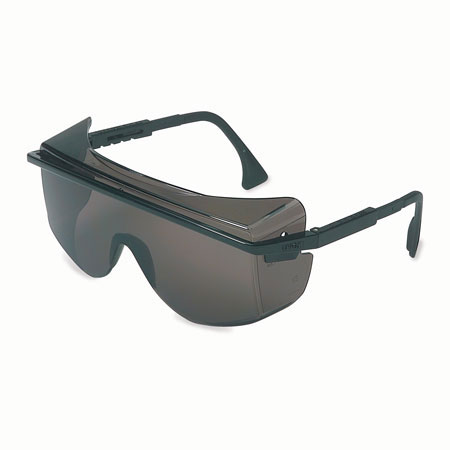 Uvex® by Honeywell S2504 Safety Glasses, Polycarbonate, Gray,