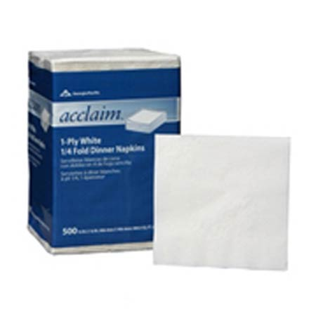 Pacific Blue®, Beverage Napkin, 1-Ply, 1/4 Fold, 11-1/2 x 12-1/2 inPacific Blue®, Beverage Napkin, 1-Ply, 1/4 Fold, 11-1/2