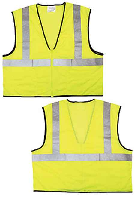 RIVER CITY®, High Visibility Safety Vest, Polyester Mesh,