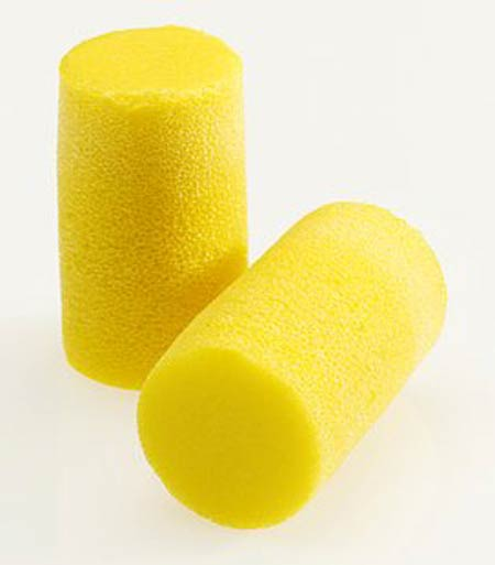 E-A-R™, Disposable Earplug, Uncorded, Yellow, Cylinder, 33 dBE-A-R™, Disposable Earplug, Uncorded, Yellow, Cylinder, 33 dBE-A-R™,