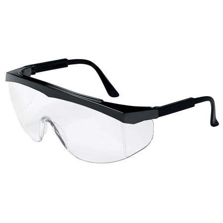 MCR Safety SS110 Stratos Safety Glasses, Clear Lens,