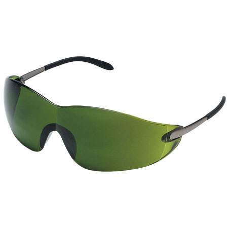 MCR Safety S21130 Blackjack® Glasses, Filter 3.0 Green