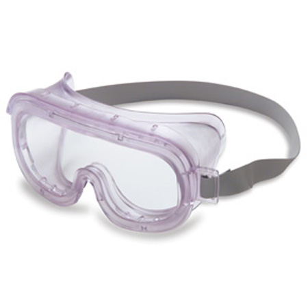 Uvex® Safety S360 Goggle, Polycarbonate, Clear, Anti-Fog, PVC,