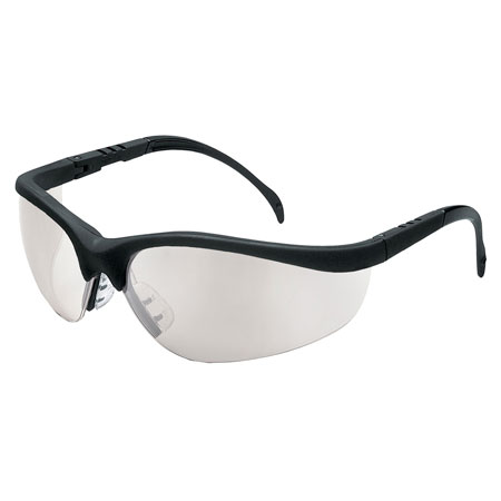 aa337201044b MCR Safety KD119 Klondike Safety Glasses, Clear Mirror Lens