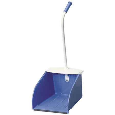 Mclane Stand Up Dustpan Blue Wide Mouth Dp5 24 Metal Handle