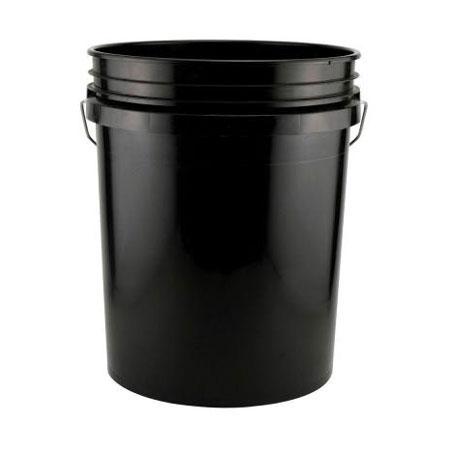 5 Gallon Food Grade Buckets Round Plastic Assorted Colors