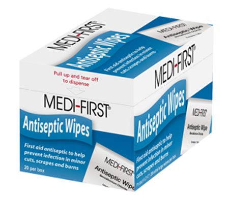 Antiseptic Wipe Packets with Benzalkonium Chloride Medique® 21433