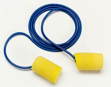 3M™ E-A-R™ Classic™ 311-4101 Corded Metal Detectable Earplugs