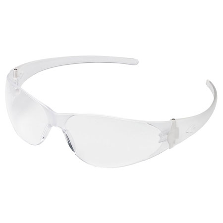MCR Safety CK110 Checkmate Safety Glasses, Clear Lens