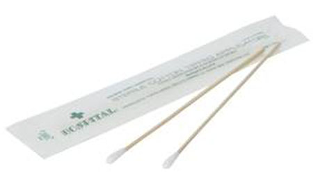 NORTH® Sterile Cotton Tipped Applicator, 6""