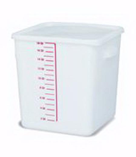 Rubbermaid FG9F0800WHT Square Storage Container 18 Quart