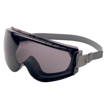 Uvex S3961C Stealth Safety Goggle, Gray Body, Neoprene BandUvex S3961C Stealth Safety Goggle, Gray Body, Neoprene