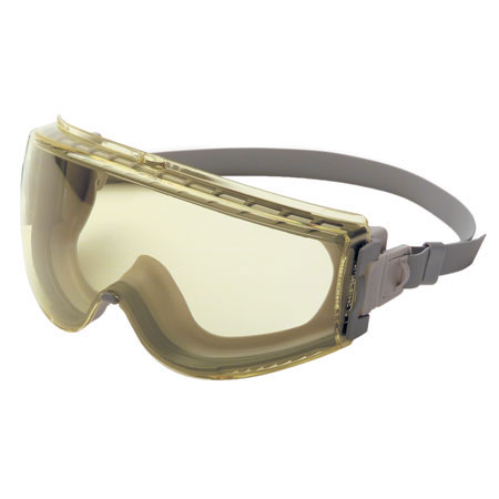 Uvex Stealth® Safety Goggle S3962C, Polycarbonate, Amber, Anti-Fog