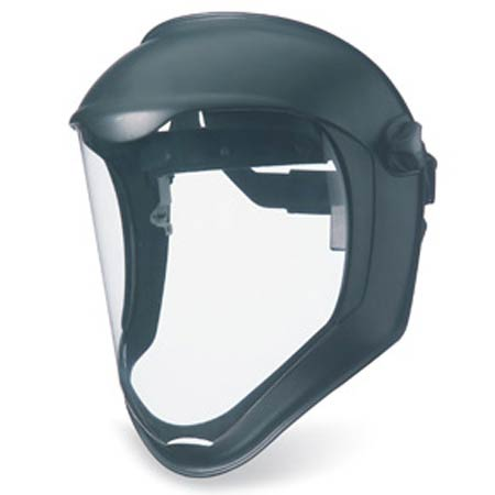 Uvex®, Face Shield, Dual Position, Clear, Anti-Fog|Hard Coat,