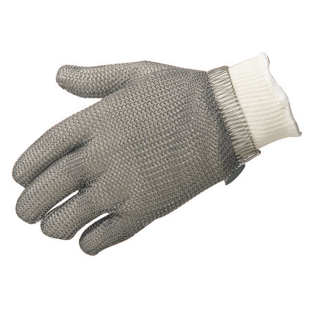 North®, Metal Mesh Gloves, Stainless Steel Mesh, Spring