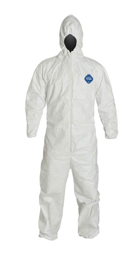 DuPont™ Tyvek® 400 TY127S WH Coverall with Hood
