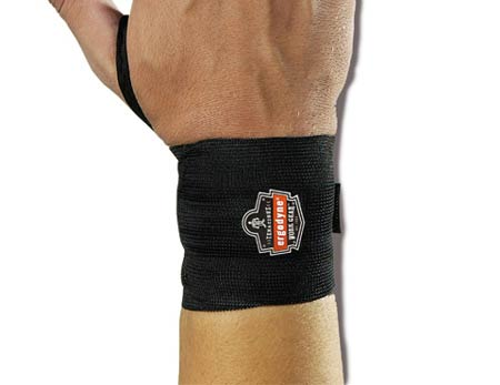 ProFlex®, Wrist Wrap, Hook & Loop, Black, Durable
