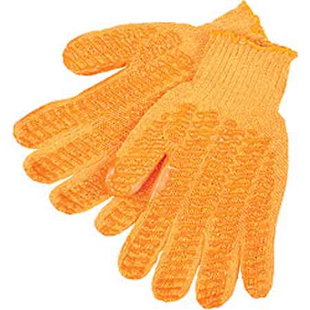 Honey Grip®, String Knit Gloves, Cotton / Polyester,