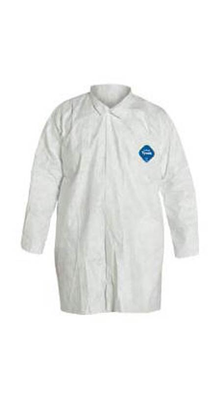 DuPont™ Tyvek® 400 210S WH Disposable White Frock,