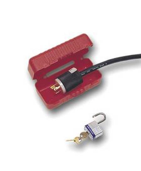 Lockout Electrical Plug Lock 110 Volt
