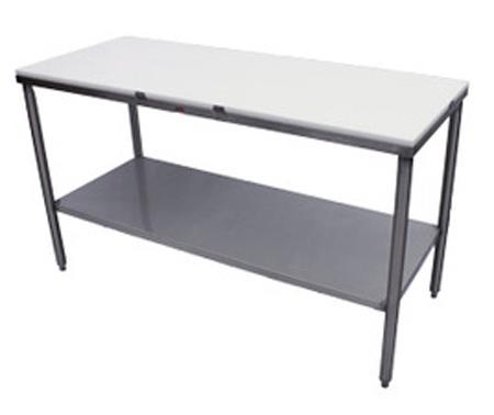 Heat Seal KKS Cutting Board Top Preparation Table - Restaurant prep table cutting boards