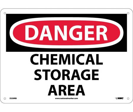 Chemical, Biohazard and Hazardous Material Signs