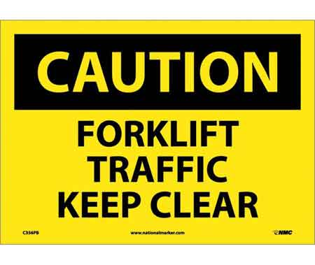 Fork Lift and Warehouse Traffic Signs