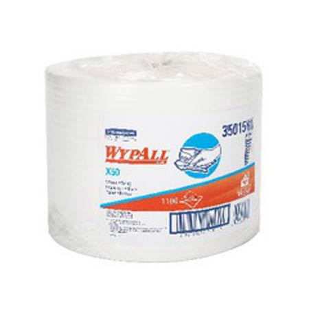 WypAll® X50 Kimberly Clark Wipes White Jumbo RollWypAll® X50 Kimberly Clark Wipes White Jumbo RollWypAll®
