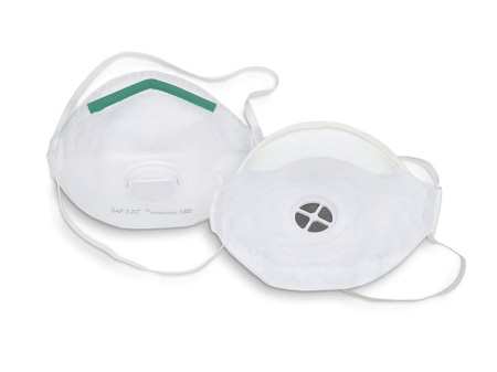 SAF-T-FIT® 14110324 Particulate Respirator, N95, White, Medium