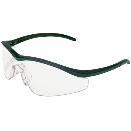 MCR Safety T1110AF Triwear Safety Glasses, Anti-Fog Lens