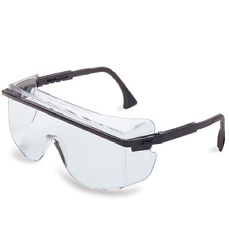 Uvex S2500C Astro OTG 3000 Safety Glasses, Black
