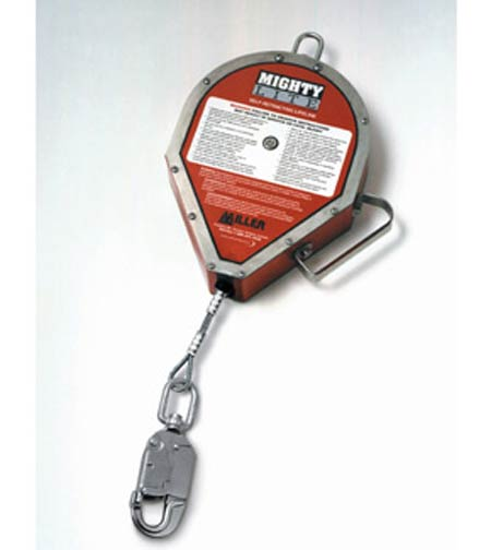 Miller®, Self Retracting Lifeline, Stainless Steel, 30 ft,