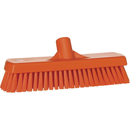 Vikan® 7060 Stiff Bristle Deck Scrub Brush 12""