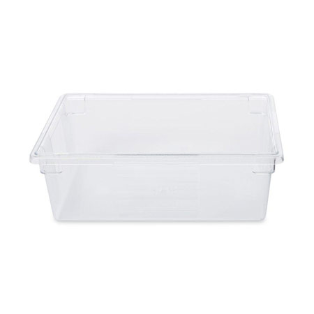 Rubbermaid FG330000CLR Clear FoodTote Box 12 12 Gallon