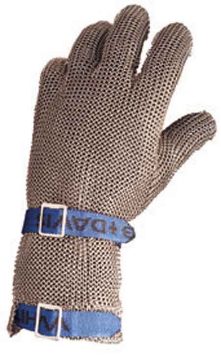 North®, Metal Mesh Gloves, Stainless Steel Mesh, Extended,